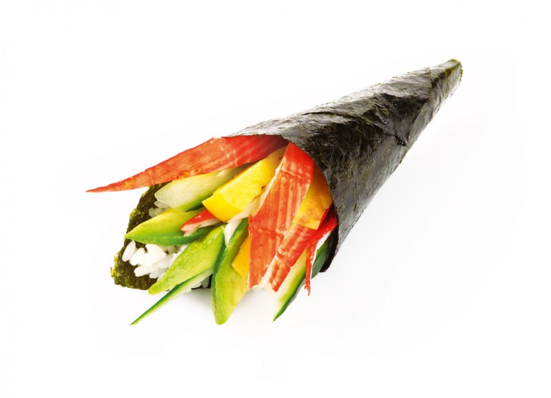 Foodfotografie Temaki California Avocado